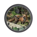 Fox Wall Clocks
