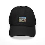 Camp Hood Texas Black Cap