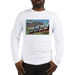 Camp Hood Texas (Front) Long Sleeve T-Shirt