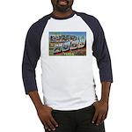 Camp Hood Texas (Front) Baseball Jersey