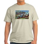 Camp Hood Texas (Front) Ash Grey T-Shirt