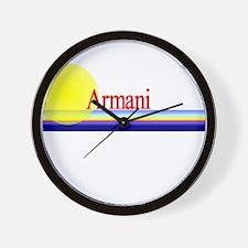 Armani Wall Clock