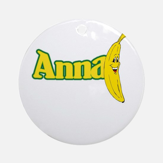 Anna Banana Ornament (Round)