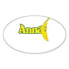 Anna Banana Decal