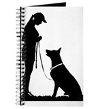 Dog trainer german shepherd Journals & Spiral Notebooks