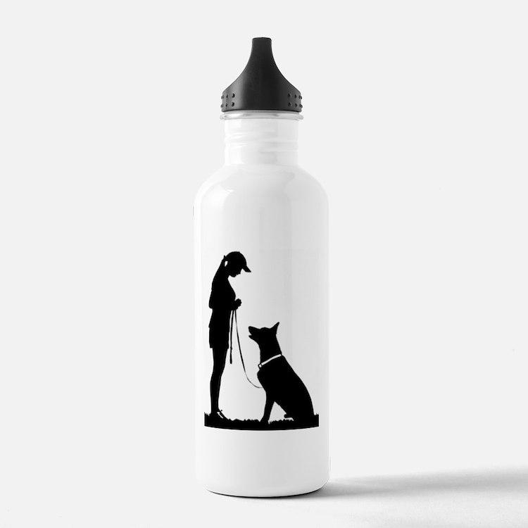 German Shepherd Obedience Water Bottle
