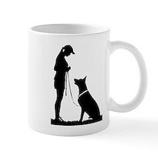 German Shepherd Obedience Small Mug