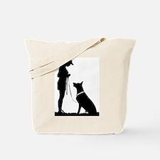 German Shepherd Obedience Tote Bag