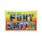 Fort Smith Arkansas Rectangle Magnet (10 pack)
