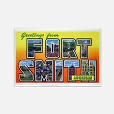 Fort Smith Arkansas Rectangle Magnet