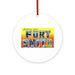 Fort Smith Arkansas Ornament (Round)