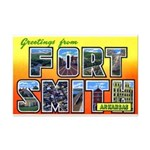 Fort Smith Arkansas Mini Poster Print