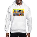 Fort Smith Arkansas (Front) Hooded Sweatshirt