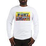 Fort Smith Arkansas (Front) Long Sleeve T-Shirt
