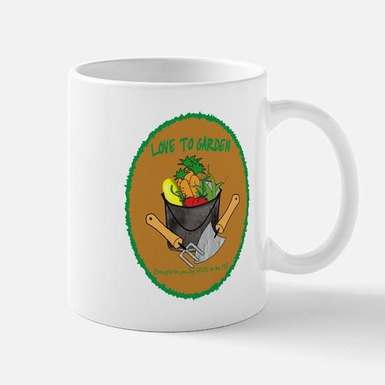 GARDENING - LOVE TO BE ME Mug