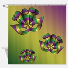 Mardi Gras Mask Shower Curtain