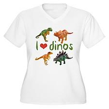 I Love Dinos T-Shirt