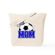 Soccer Mom (Blue) Tote Bag
