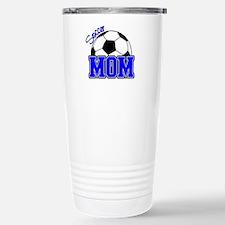 Soccer Mom (Blue) Travel Mug