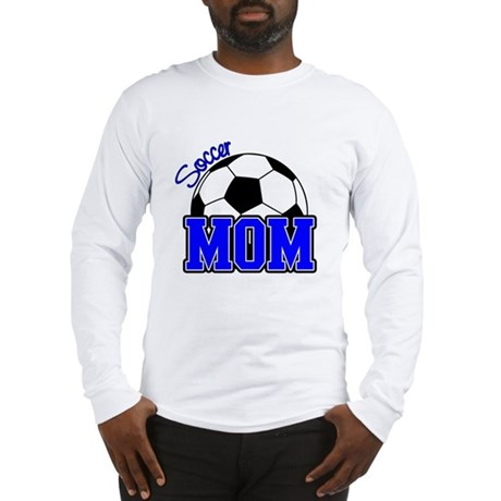 Soccer Mom (Blue) Long Sleeve T-Shirt