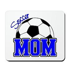 Soccer Mom (Blue) Mousepad