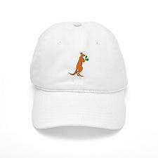 kangaroo boxer boxing retro Baseball Cap