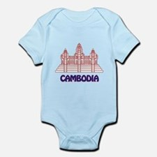 Cambodia Infant Bodysuit