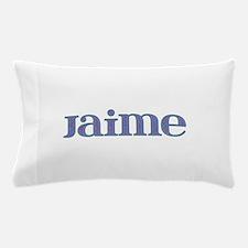 Jaime Blue Glass Pillow Case