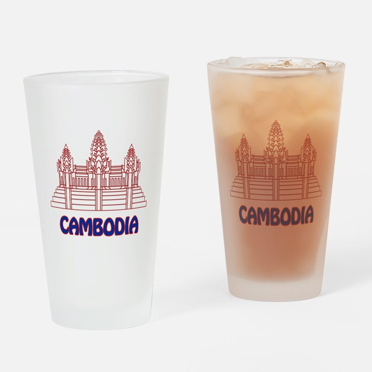 Cambodia Drinking Glass