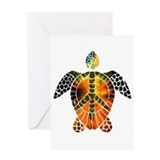 sea turtle-3 Greeting Card