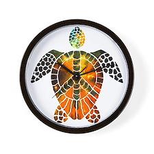 sea turtle-3 Wall Clock