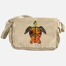sea turtle-3 Messenger Bag