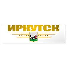 Irkutsk Flag Bumper Sticker