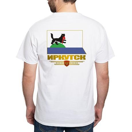 Irkutsk Flag White T-Shirt