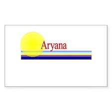 Aryana Rectangle Decal