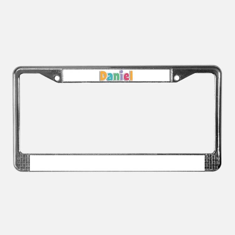 Daniel License Plate Frame