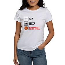 Eat Sleep Basketball Tee