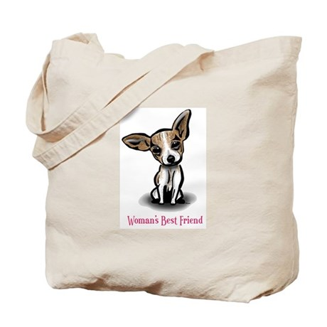 Woman's Best Friend Chihuahua Tote Bag