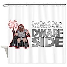 The Dwarf Side Shower Curtain