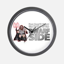 The Dwarf Side Wall Clock