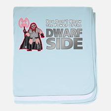The Dwarf Side baby blanket