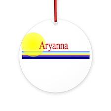 Aryanna Ornament (Round)