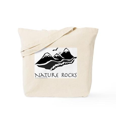 Nature Rocks Mountains Tote Bag