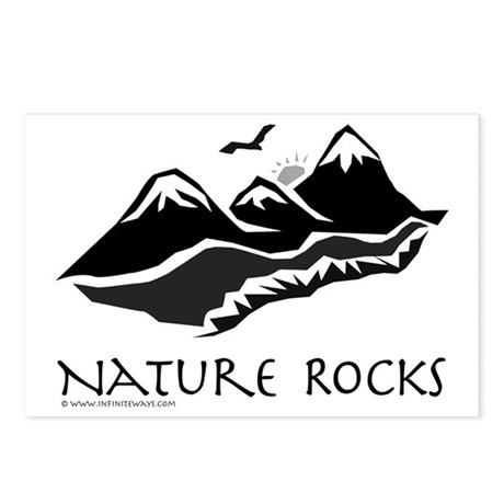 Nature Rocks Mountains Postcards (Package of 8)
