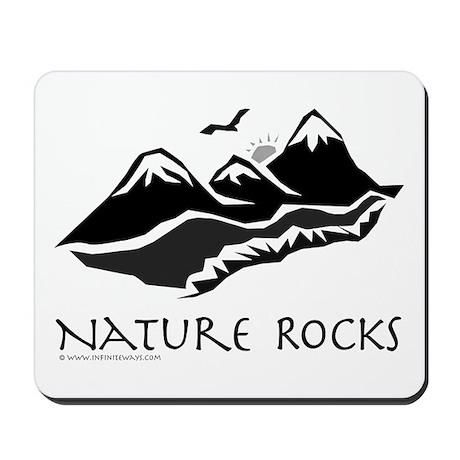 Nature Rocks Mountains Mousepad