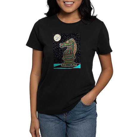 Neon Knight Women's Dark T-Shirt