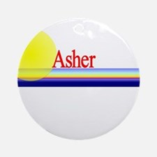 Asher Ornament (Round)