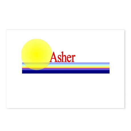 Asher Postcards (Package of 8)