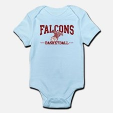 Falcons Basketball Infant Bodysuit