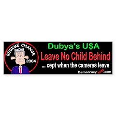 No Child Bumper Bumper Sticker